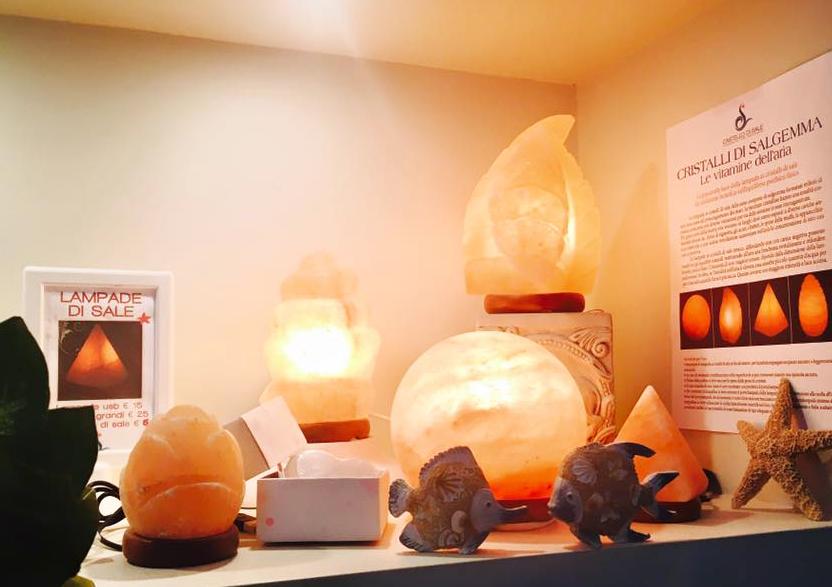 Lampada Di Cristallo Di Sale Ionizzante : Lampada di sale dell himalaya aria purificata lampada salgemma