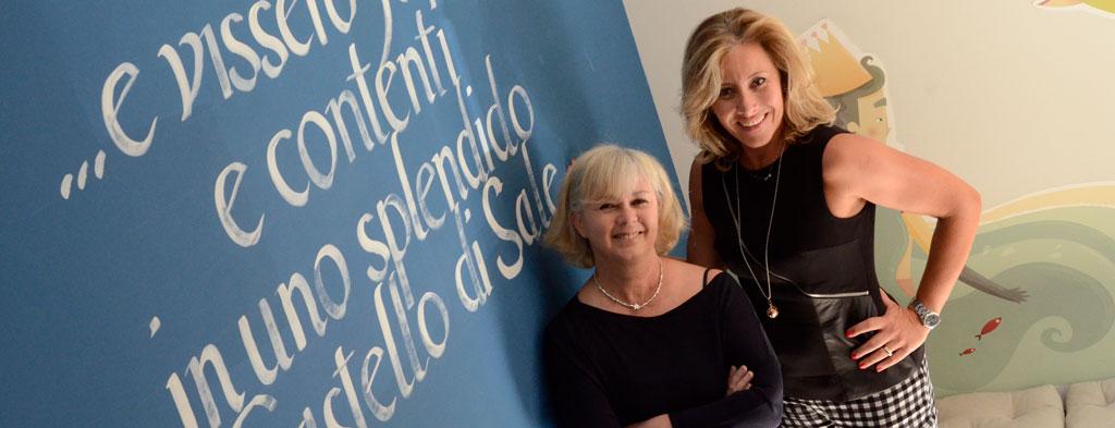 Giuliana e Simona del Castello di Sale